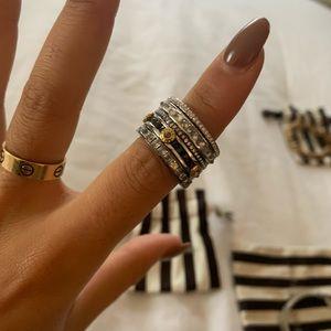 Henri Bendel stacked ring